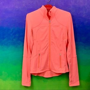 lululemon athletica • coral pink define jacket 8